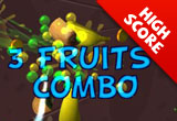 3D Fruit Slasher 2